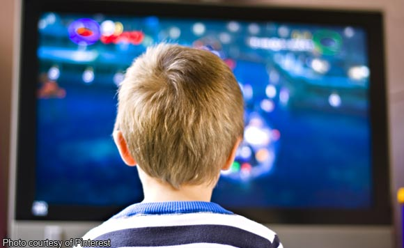how does television effect children