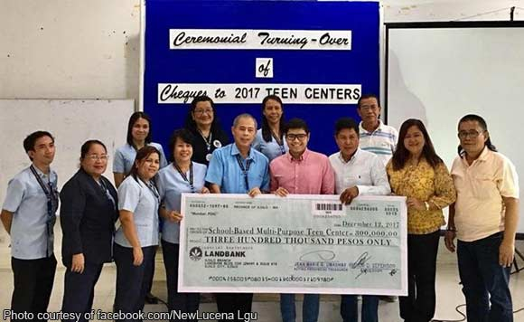 Funds for the teen center 9