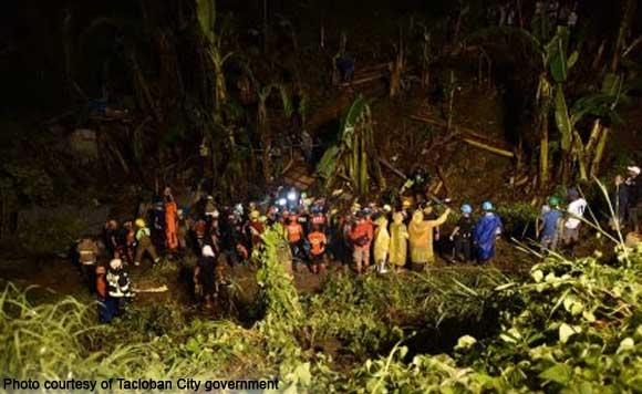 Mayor Cristina Romualdez Cong. Artemio Mate Avenue Quarry district Tacloban landslide